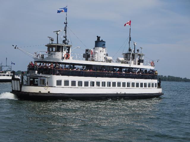 Lake Ontario Cruise cruise boat in Toronto, Ontario, Canada