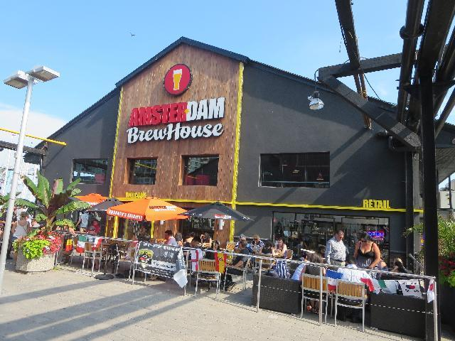 Amsterdam BrewHouse lakeside brewery in Toronto, Ontario, Canada