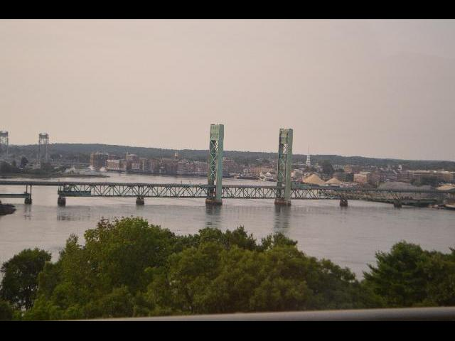 City skyline of Portsmouth New Hampshire, USA