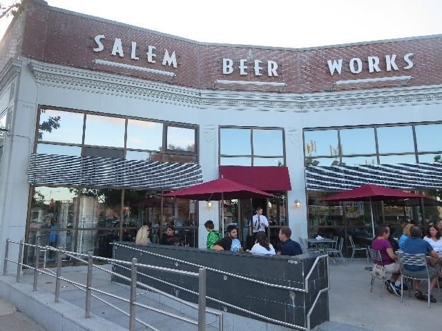 Salem Beer Works in Salem, Massachusetts, USA