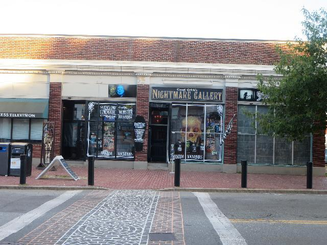 Count Orlok's Nightmare Gallery in Salem, Massachusetts, USA