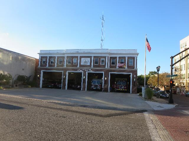 The Salem Ma Fire Department in Salem, Massachusetts, USA