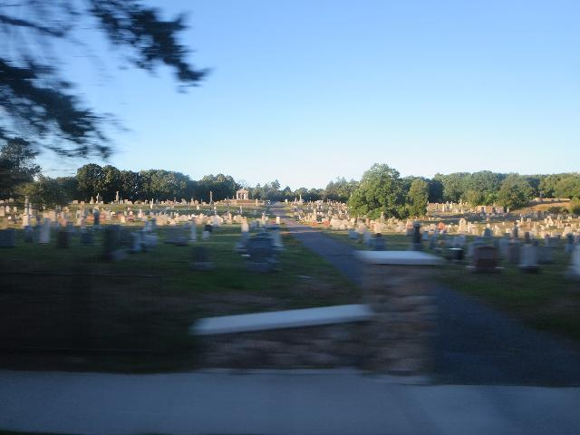 St. Mary's Cemetery in Salem Massachusetts USA