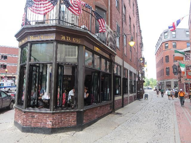 The Bell In Hand Tavern in Boston, Massachusetts USA