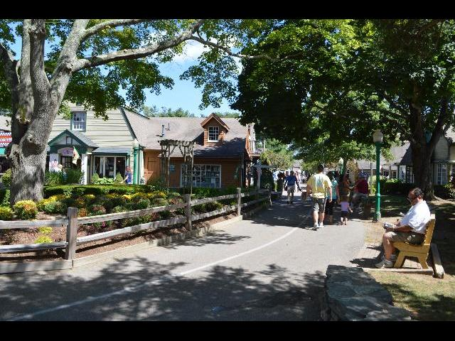 Olde Mistick Village in Mystic, Connecticut USA