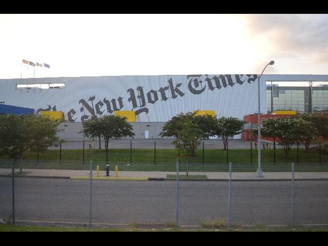 The New York Times Newspaper office