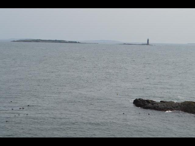 Ram Island Lighthouse in Portland, Maine, USA
