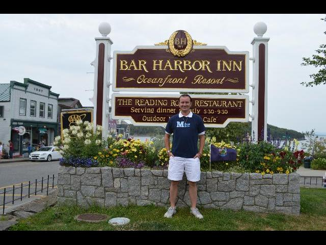 Visiting the Bar Harbor Inn of Bar Harbor, Maine, USA