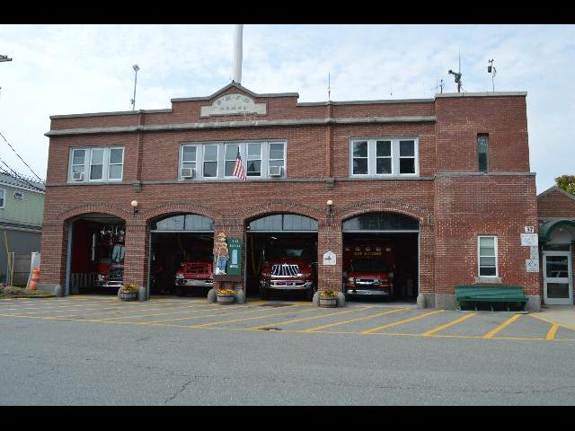 Bar Harbor Fire Department BHFD in Bar Harbor, Maine, USA