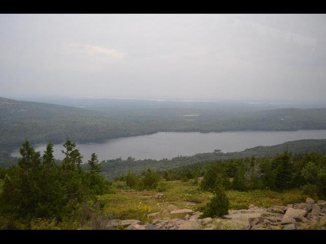 Acadia National Park, Cadillac Mountain, Mount Desert Island, Bar Harbor, Maine, USA