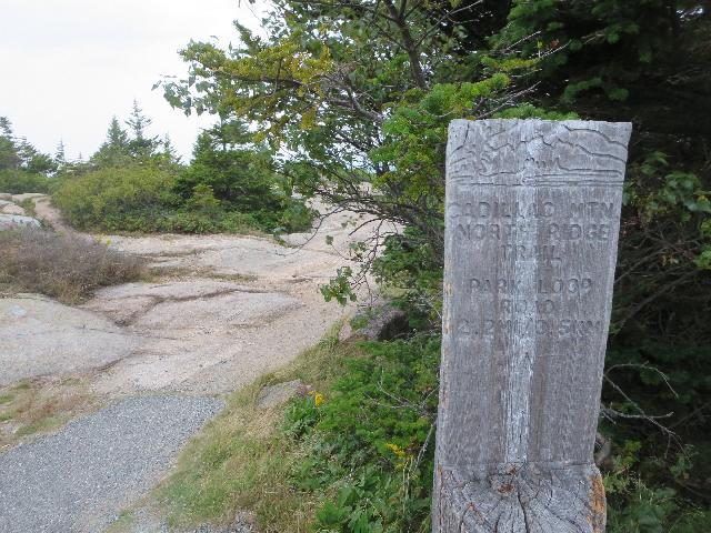 Acadia National Park, North Ridge Trail on Cadillac Mountain, Mount Desert Island, Bar Harbor, Maine, USA