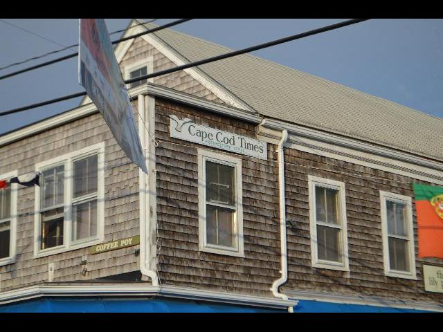 Cape Cod Times office in Provincetown, Cape Cod, Massachusetts, New England, USA