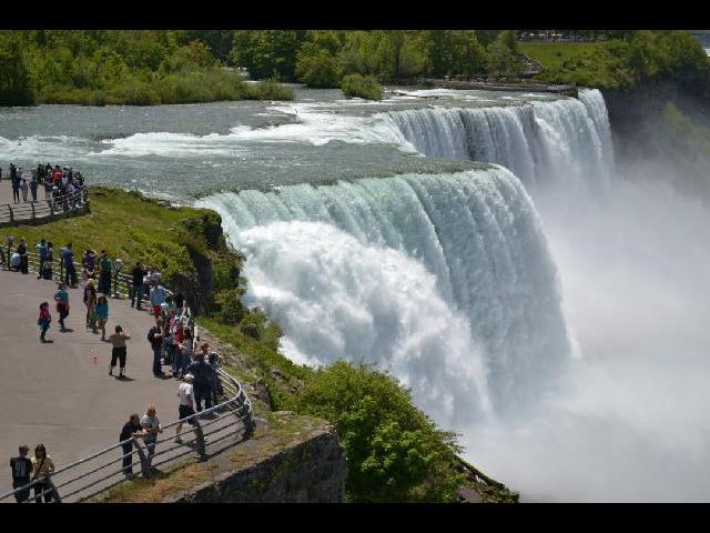 the astonishing Niagara!