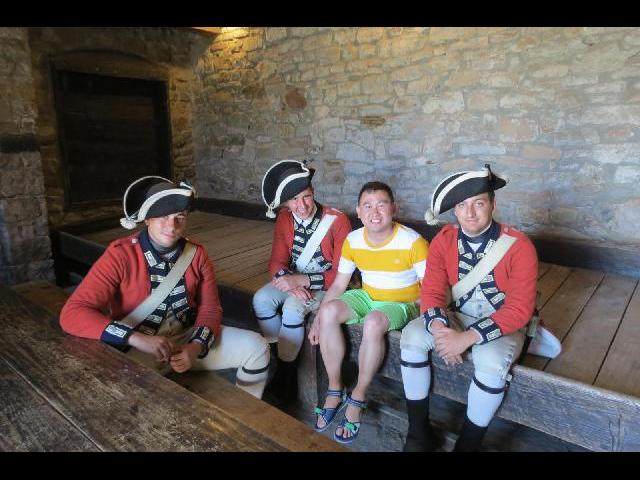 The soldier from Fort Niagara
