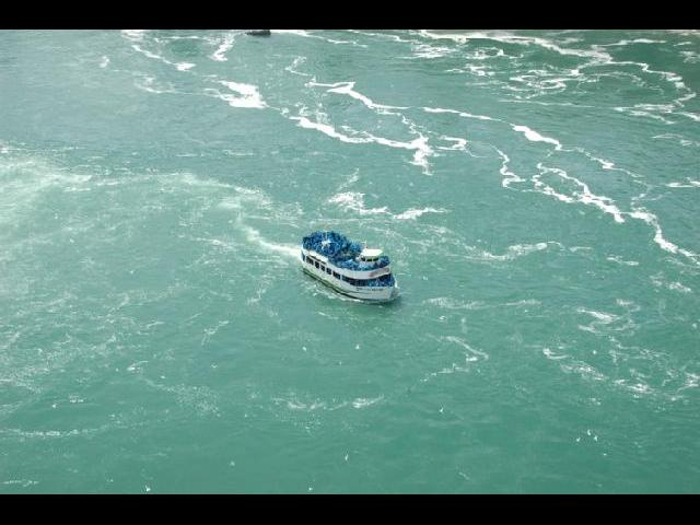 Maid of the Mist -- view from uptop