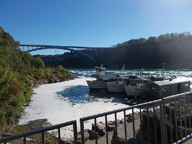 The bridge between USA and Canada