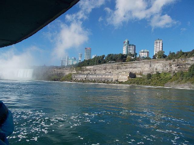 View toward Niagara Falls town