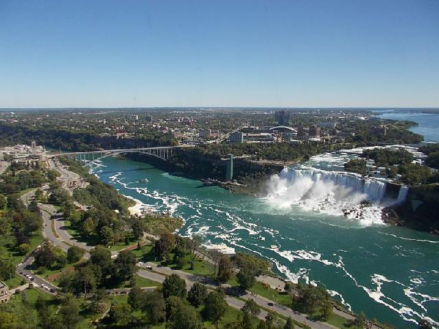 Wonderful view from the Skylon