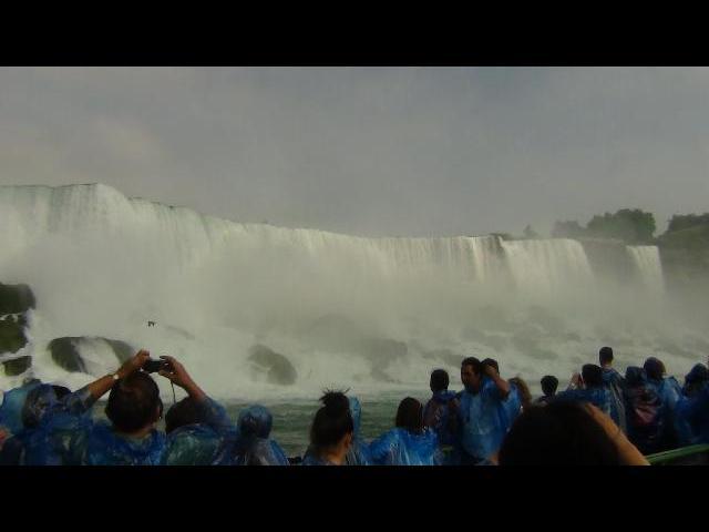 Niagara Falls from Maid of Mist 1