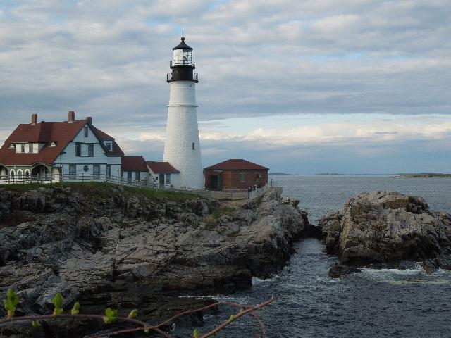 Portland Head Light, lighthouse located in Cape Elizabeth