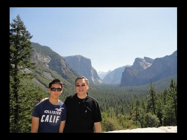 The beautiful Yosemite Valley