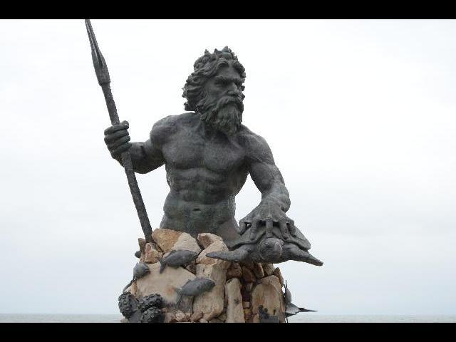 Neptune's statue