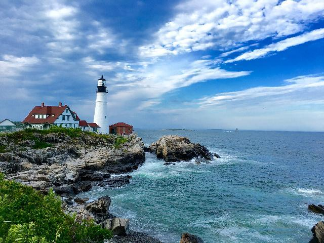 PORTLAND HEAD LIGHT HOUSE