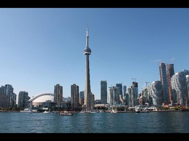 Toronto from the Boat Cruise