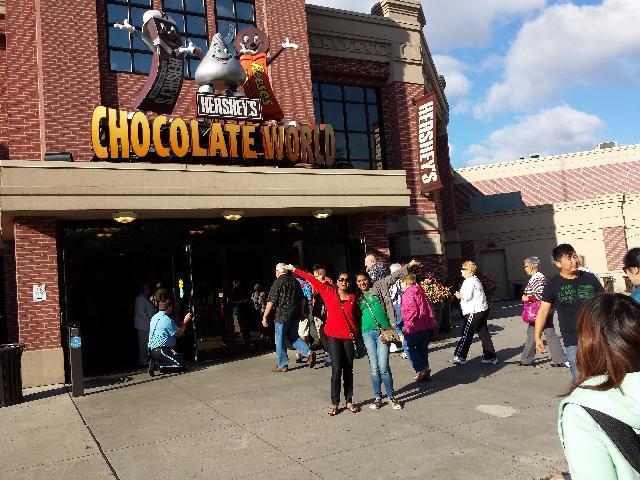 Hersheys Chocolate Factory
