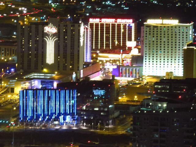 View from top floor of Stratosphere