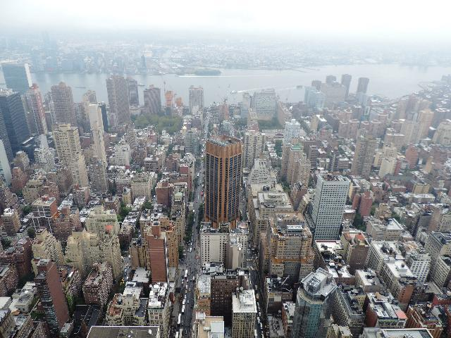 Bird Eye view from Empire State Bldg
