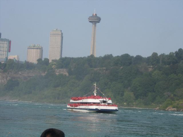MAID OF THE MIST RIDE...