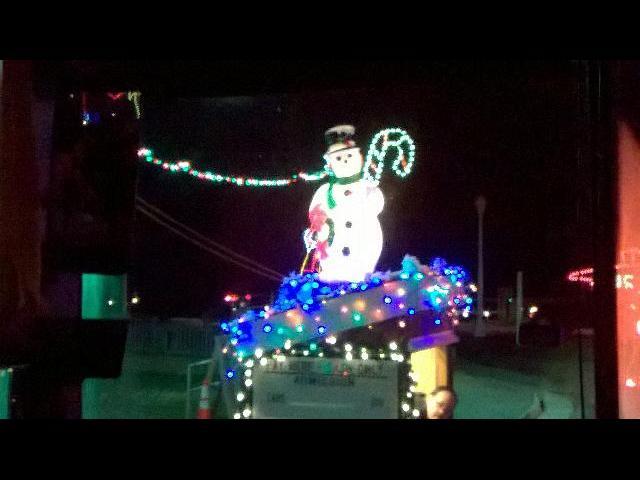 Christmas lights @ Virginia