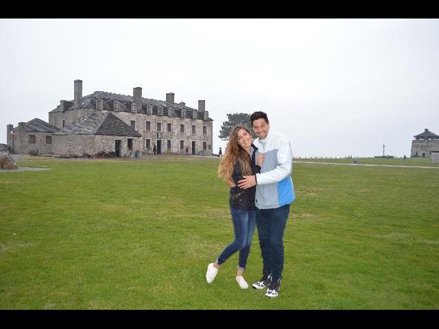 We got engaged!!
