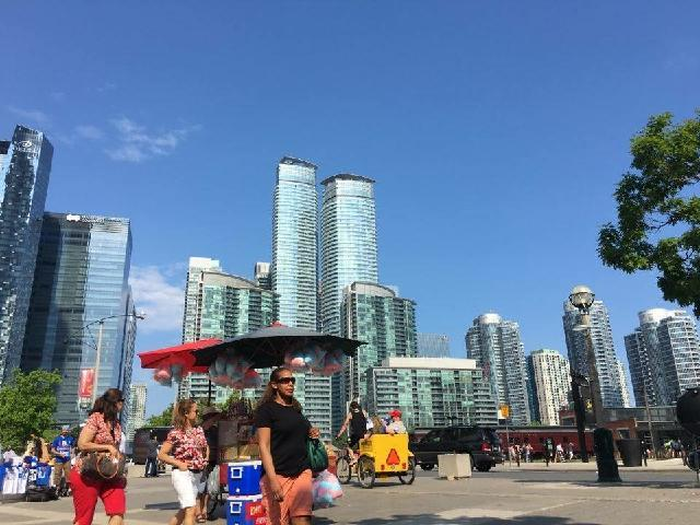Downtown of Canada