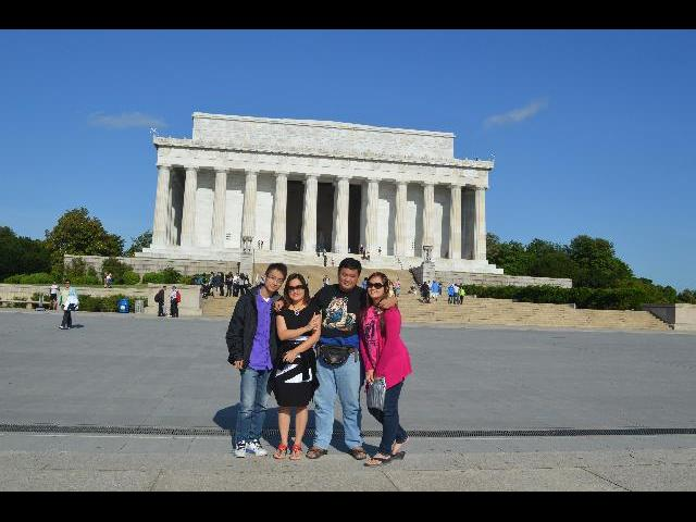 My wife, daughter, and I, with our tour guide Jerry! Jerry was a great tour guide...thank you!
