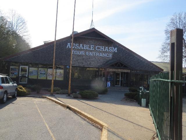 Ausable Chasm Tour Enterance