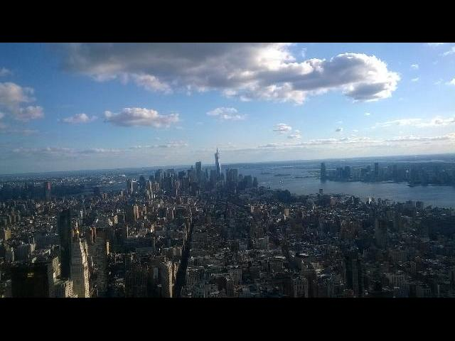 Best view of New York From Empire state Building.