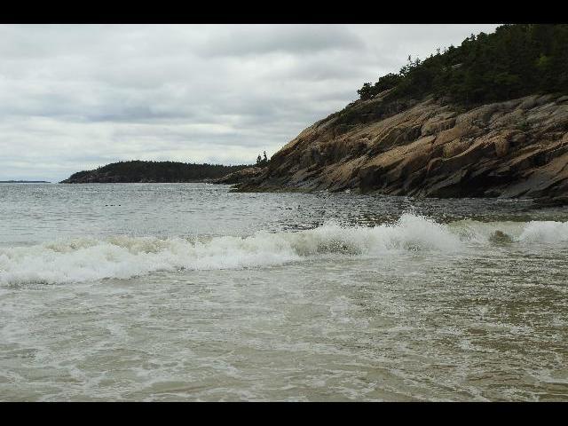 Acadia Sand beach