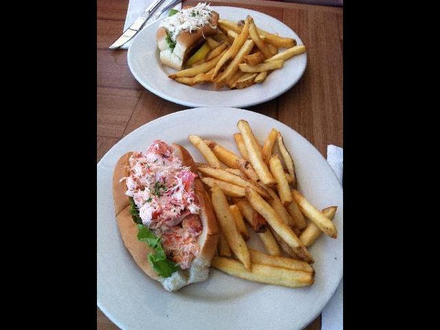 Lobster & crab rolls