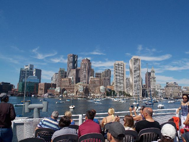 Boston harbour Cruise