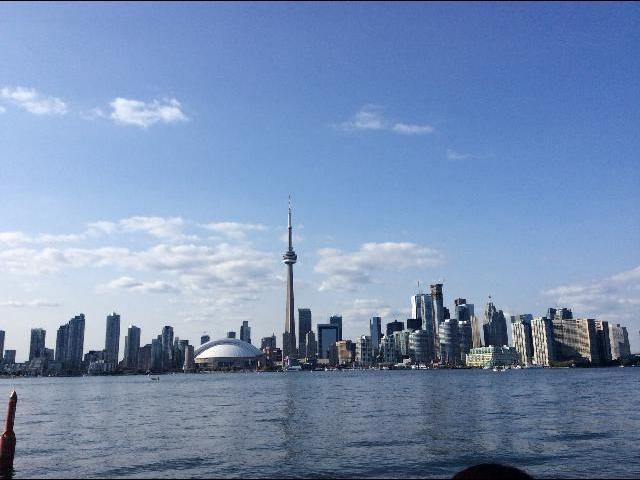 View of the city of Toronto