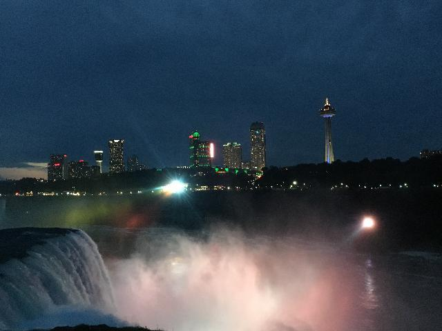 Niagara falls  Night View