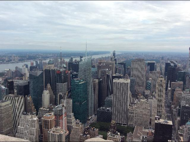 view from the 86th floor of the Empire State Building