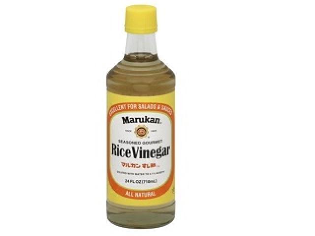 Marukan Rice Vinegar, Seasoned Gourmet, 24 fl oz