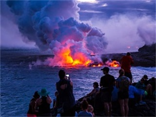 1-Day Kona, Black Sand Beach, Volcano National Park In-depth Tour