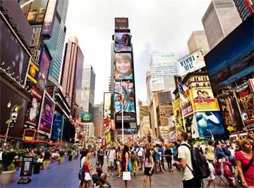 7-Day USA East Coast Tour Package from New York/New Jersey