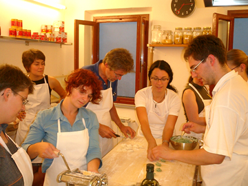 Cooking Course with Dinner in Florence