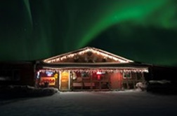 Alaska Aurora Viewing Lodge from Fairbanks