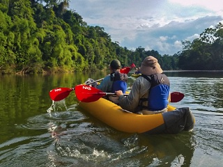 10-Day Amazon Kayak and Galapagos Adventures Tour from Quito